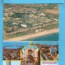 Postales: CINCO POSTALES PROVINCIA DE TARRAGONA VER FOTOS UNA CIRCULADA . Lote 139947534