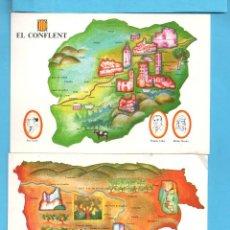 Postales: SEIS POSTALES CATALUNA VER FOTOS SIN CIRCULAR. Lote 139949638