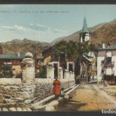 Postales: VALL D' ANEU - ENTRADA A LA VILLA D'ESTERRI - 1 - FOT CAMPS - POSTAL ANTIGA-(54.209). Lote 140303802