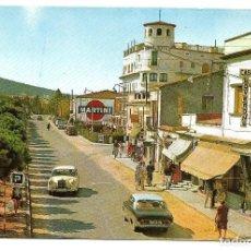 Postales: PLAYA DE ARO Nº 969 LA CALLE CENTRAL .- FOTO J. UBACH PUIG . Lote 140306458
