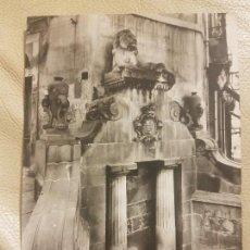 Postales: ANTIGUA POSTAL CALDAS DE MONTBUY. FUENTE DEL LEON. SIN CIRCULAR.. Lote 140331582