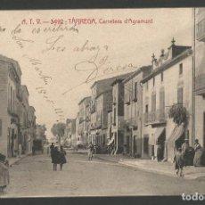 Postales: TARREGA - CARRETERA D' AGRAMUNT - ATV 3492 -POSTAL ANTIGUA-(54.324). Lote 140426790