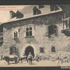 Postales: VIELLA - ANCIENNE MAISON DE RODES -POSTAL ANTIGA-(54.335). Lote 140428106