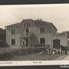 Postales: VILLALBA SASERRA - MASIA AGELL - FOTOGRAFICA -POSTAL ANTIGA-(54.340). Lote 140428702