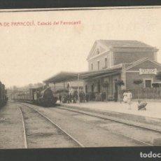 Postales: ESPLUGA DEL FRANCOLI - ESTACIO DEL FERROCARRIL - THOMAS -POSTAL ANTIGA-(54.308). Lote 140429982