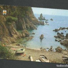Postales: POSTAL CIRCULADA - PLAYA DE ARO - COSTA BRAVA 73 - EDITA ESCUDO DE ORO. Lote 140453526