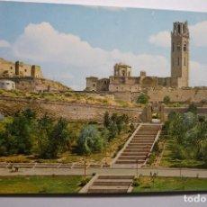 Postales: POSTAL LERIDA -SEO ANTIGA CATEDRAL CM. Lote 140461882