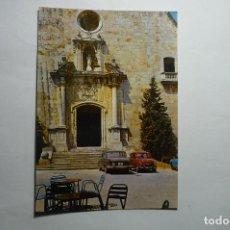 Postales: POSTAL TORDERA -ENTRADA IGLESIA -COCHES SEAT CIRCULADA. Lote 140479078