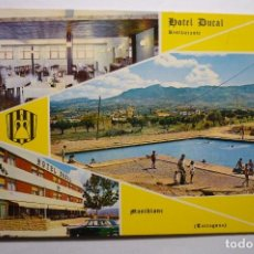 Postales: POSTAL MONTBLANC - HOTEL DUCAL. Lote 140489590