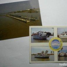 Postales: LOTE POSTALES PARQUE NATURAL DELTA DEL EBRO-LA CAVA DELTEBRE. Lote 140489750