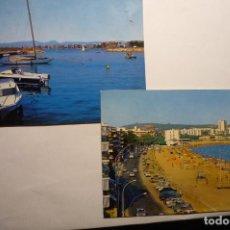 Postales: LOTE POSTALES SALOU PUERTO - PLAYA. Lote 140489994