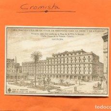 Postales: OBRA INMOBILIARIA DE LA ' CAJA DE PENSIONES PARA LA VEJEZ Y DE AHORROS / NO. CIR. // ( NOV2018-3 ). Lote 140501610