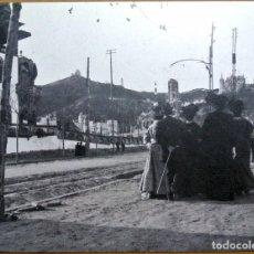 Postales: 1900-1920 AVINGUDA DEL TIBIDABO , BARCELONA, ANIMADA, FRANCESCA PORTOLÉS B/A. DOCTOR COMAS 20.5 X 16. Lote 140679614
