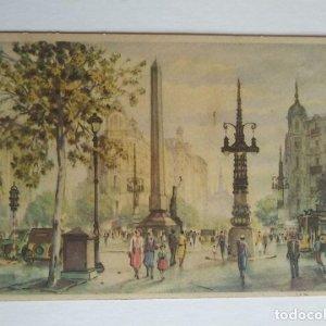 Plaza de la Victoria - Serie 50 - López Ramón - Colección Tierras Hispánicas