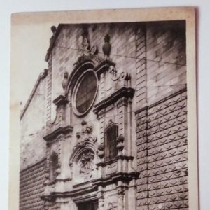 Barcelona Iglesia de nostra senyora de Betlem (S.XVII)
