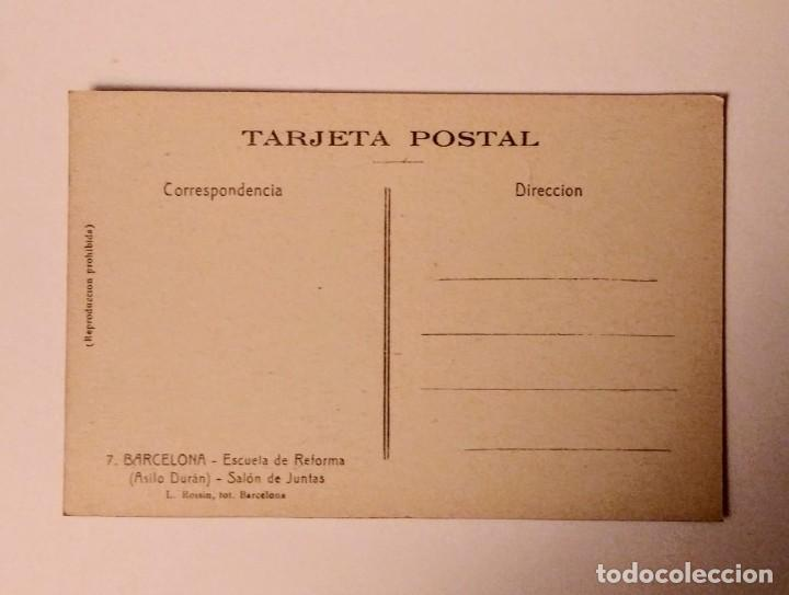 Postales: Barcelona Escuela de reforma (Asilo Durán) Salón de juntas - Foto 2 - 140780774