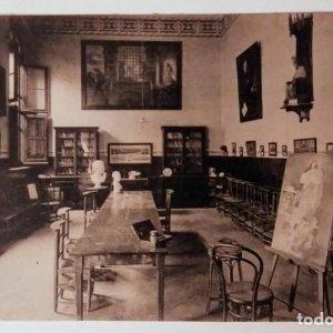 Barcelona Escuela de reforma (Asilo Durán) Salón de estudio