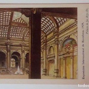 Exposición Internacional de Barcelona 1929 Palacio de las artes