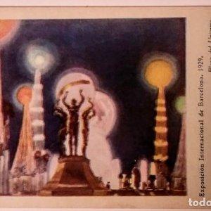 Exposición Internacional de Barcelona 1929 Plaza del Universo