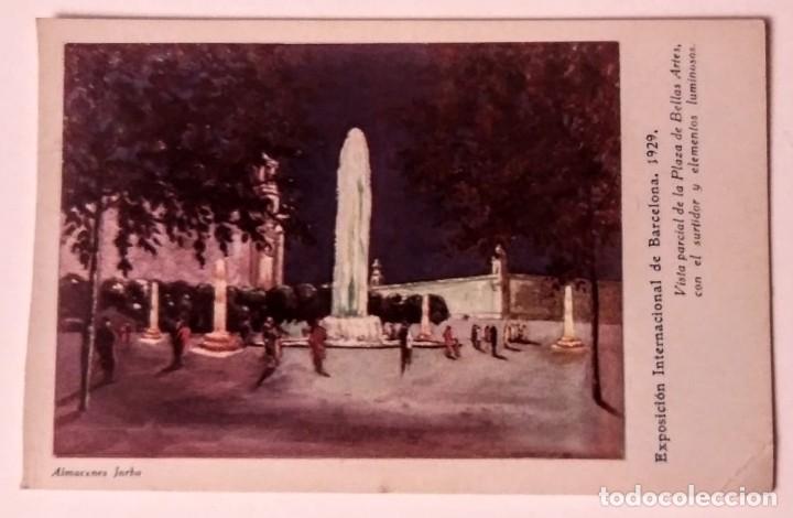 EXPOSICIÓN INTERNACIONAL DE BARCELONA 1929 (Postales - España - Cataluña Antigua (hasta 1939))