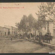 Postales: BLANES - RIERA I FONT DE LA CREU - 2 - THOMAS - POSTAL ANTIGA-(54.396). Lote 140791346
