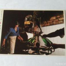 Postales: ANTIGUA POSTAL LA VANGUARDIA CATALUNYA UNIVERSAL AÑOS 90: CAVAS, SANT SADURNÍ ANOIA (10'2 X 14'8 CM). Lote 140808342