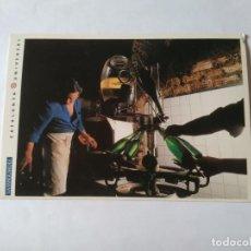Postales: ANTIGUA POSTAL LA VANGUARDIA CATALUNYA UNIVERSAL AÑOS 90: CAVAS, SANT SADURNÍ ANOIA (10'2 X 14'8 CM). Lote 140808394