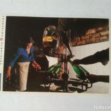 Postales: ANTIGUA POSTAL LA VANGUARDIA CATALUNYA UNIVERSAL AÑOS 90: CAVAS, SANT SADURNÍ ANOIA (10'2 X 14'8 CM). Lote 140808490