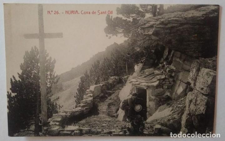 NURIA COVA DE SANT GIL Nº26 (Postales - España - Cataluña Antigua (hasta 1939))