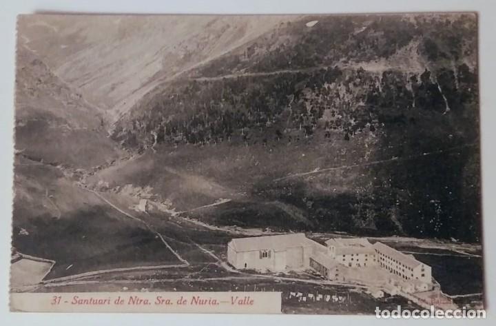 1920 SANTUARI DE NOSTRA SENYORA DE NURIA VALLE CIRCULADA (Postales - España - Cataluña Antigua (hasta 1939))