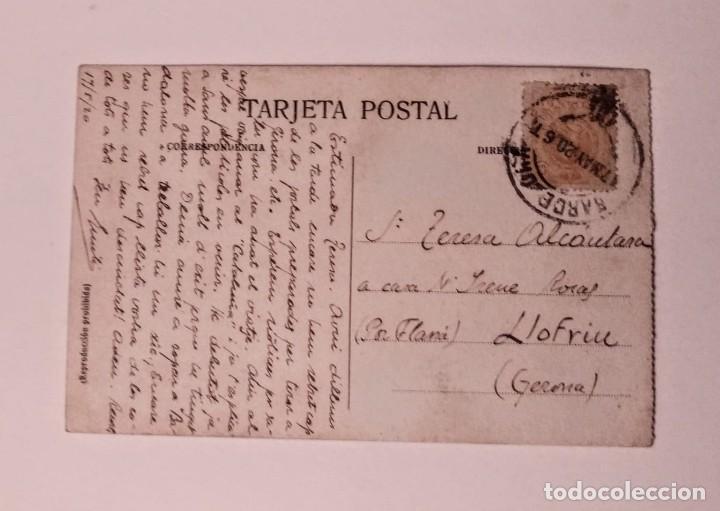 Postales: 1920 Santuari de Nostra Senyora de Nuria Valle Circulada - Foto 2 - 140846066