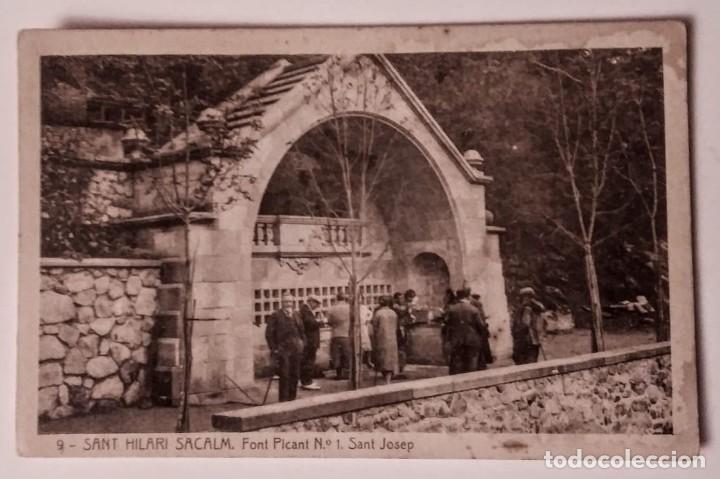 SANT HILARI DE SACALM FONT PICANT SANT JOSEP (Postales - España - Cataluña Antigua (hasta 1939))