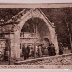Postales: SANT HILARI DE SACALM FONT PICANT SANT JOSEP. Lote 140847190