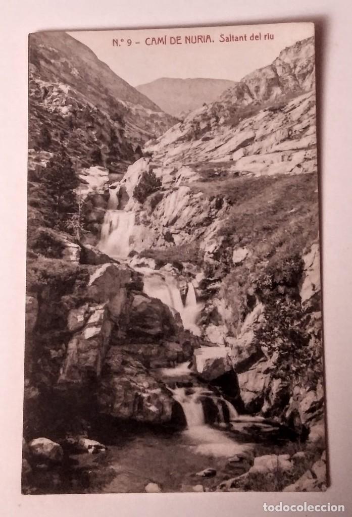 CAMÍ DE NÚRIA SALANT DEL RIU (Postales - España - Cataluña Antigua (hasta 1939))