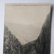 Postales: CAMÍ DE NURIA. GORJA DE CREMAL DESDE EL SALT DEL SASTRE. Lote 140850674