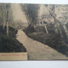 Postales: SANT ANTONI DE VILAMAJOR RIERA SAN ANTONIO DE VILAMAJOR. Lote 140850802