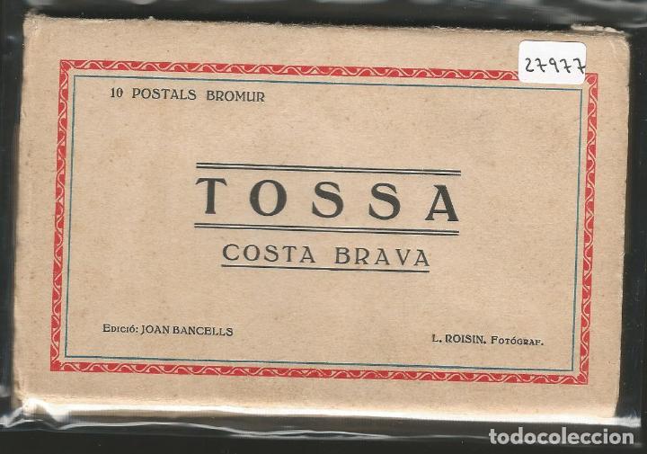 TOSSA DE MAR - 10 POSTALS - P27977 (Postales - España - Cataluña Antigua (hasta 1939))
