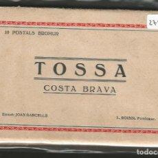 Postales: TOSSA DE MAR - 10 POSTALS - P27977. Lote 140877362