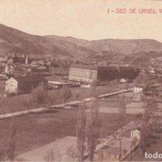 Postales: SEO DE URGEL, VISTA GENERAL, LERIDA. Lote 140879762