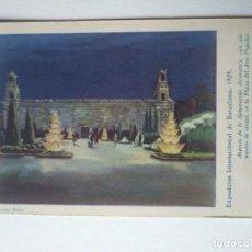 Postales: EXPOSICIÓN INTERNACIONAL DE BARCELONA 1929 . Lote 140880158