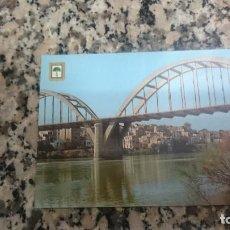 Postales: POSTAL MORA DE EBRO EL RIO EBRO AL PASO POR MORA SIN CIRCULAR. Lote 140927698