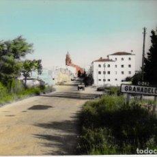 Postales: POSTAL LA GRANADELLA -LLEIDA- VISTA PARCIAL EDITA LABORATORIO GARVILLA. Lote 141117510