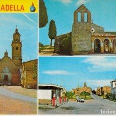 Postales: POSTAL LA GRANADELLA -LLEIDA- ESTACIÓN DE SERVICIO. Lote 141117934