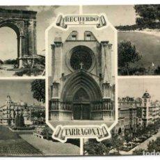 Postales: TARJETA POSTAL FOTOGRAFICA - TARRAGONA / DIVERSAS VISTAS. Lote 141191162