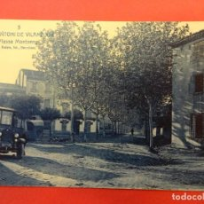 Postales: SANT ANTONI DE VILAMAJOR. PLASSA MONTSENY. Lote 141200130