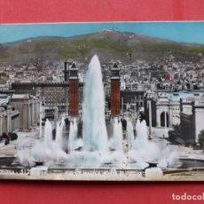 Postales: BARCELONA. FUENTE MÁGICA (HACIA EL TIBIDABO).. Lote 141286902