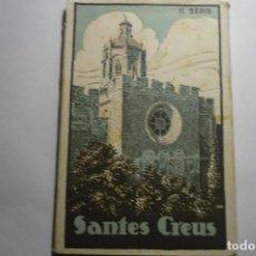Postales: TACO POSTALES SERIE II BROMUR -ZERKOWITZ - SANTES CREUS - TARRAGONA. Lote 141723230