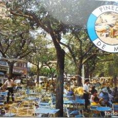 Postales: POSTAL PINEDA DE MAR.-PL.MELIAS--CIRCULADA. Lote 141724158