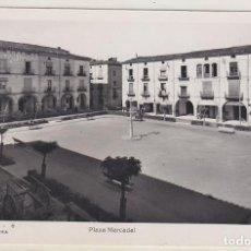 Cartes Postales: AGRAMUNT, PLAZA MERCADAL, LERIDA. Lote 141780674