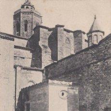 Postales: CERVERA, IGLESIA DE SANTA MARIA, LERIDA. Lote 141936522